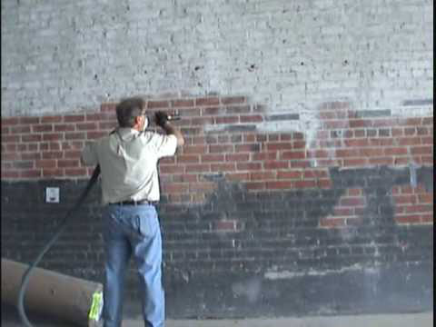 Basement cellar tanking walls using waterproof membrane - How to clean brick house exterior ...